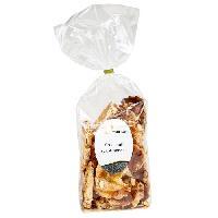 Biscuits Aperitif Croquants aux Amandes Sachet 100g