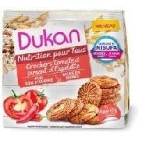 Biscuits Aperitif DUKAN Mini crakers tomate et piment d'espelette - 100 g