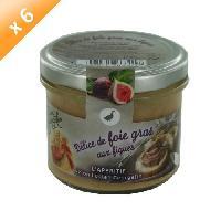 Biscuits Aperitif Delice de Foie Gras aux Figues 6x100g