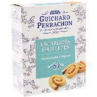 Biscuits Aperitif Feuilletes d'escargots au confit d'oignons - 85 g