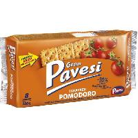 Biscuits Aperitif GRAN PAVESI Crackers tomate - 280 g Aucune