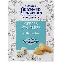 Biscuits Aperitif GUICHARD PERRACHON Crepes fourrees au Roquefort - 70 g