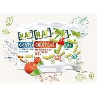 Biscuits Aperitif N.A Crispeas Sachet saveur Tomate Basilic - 50 g N.k.v E-juices