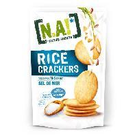 Biscuits Aperitif N.A Rice Crackers Sachet de Sel de Mer - 70 g