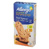 Biscuits Secs ALLERGO Biscuits Petit dejeuner cereales et pepites de chocolat - 200 g - Generique