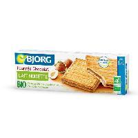Biscuits Secs BJORG Fourre Chocolat Lait Noisettes Bio 225g