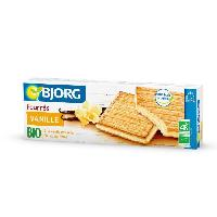 Biscuits Secs BJORG Fourres Vanille Bio 225g