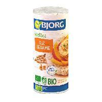 Biscuits Secs BJORG Galettes de riz sésame Bio 130g