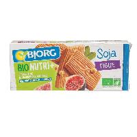 Biscuits Secs Bjorg Gouters Soja Figue 240g