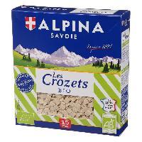 Biscuits Secs Crozet bio 3 Cereales 400g - Alpina