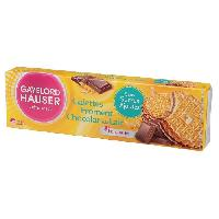 Biscuits Secs GAYELORD HAUSER Galettes Froment Chocolat au Lait - 120 g