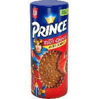 Biscuits Secs Prince Tout Chocolat 300g - Aucune