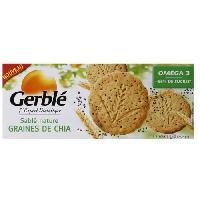 Biscuits Secs Sables Nature Graines de Chia 132g - Generique