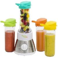 Blender AFM400 Blender - Fruits entiers et pur jus de fruits - Blanc Inox