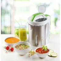 Blender DOMO DO499BL Blender chauffant Soup Maker ? Inox et Vert