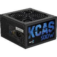 Bloc D'alimentation Interne Alimentation KCAS 500W - Non-modulaire - 500W - 80PLUS Bronze