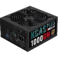 Bloc D'alimentation Interne Alimentation PC modulaire KCAS PLUS 1000GM -80+ Gold