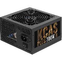 Bloc D'alimentation Interne Alimentation PC non modulaire KCAS PLUS 700W -80+ Bronze