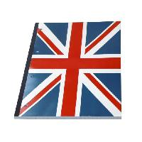 Bloc Note - Bloc De Feuilles Bloc-notes Union Jack + Feuilles lignees detachables Seyes - Format 21x29.7 cm