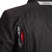 Blouson - Veste - Maillot - T-shirt - Gilet Airbaig BERING Blouson Moto Greems Noir - M=46-48