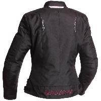 Blouson - Veste - Maillot - T-shirt - Gilet Airbaig BERING Blouson Moto Lady Anika Noir et Fushia - T1=38