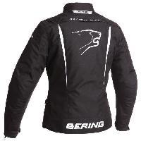 Blouson - Veste - Maillot - T-shirt - Gilet Airbaig BERING Blouson Moto Lady Katniss Noir et Blanc - T2=40