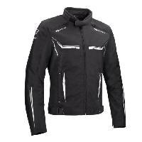 Blouson - Veste - Maillot - T-shirt - Gilet Airbaig BERING Blouson de moto Ross - Noir / Blanc - S=44