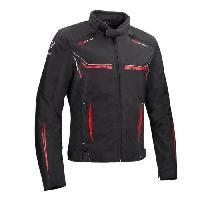 Blouson - Veste - Maillot - T-shirt - Gilet Airbaig BERING Blouson de moto Ross - Noir / Rouge - S=44