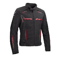 Blouson - Veste - Maillot - T-shirt - Gilet Airbaig BERING Blouson de moto Ross - Noir / Rouge - XL=54-56