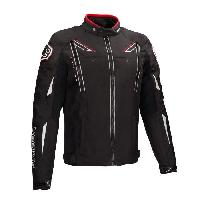 Blouson - Veste - Maillot - T-shirt - Gilet Airbaig BERING Blouson de moto Ziggy - Noir - S=44