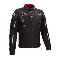 Blouson - Veste - Maillot - T-shirt - Gilet Airbaig BERING Blouson de moto Ziggy - Noir - XXL=58-60