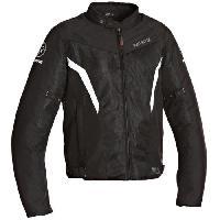 Blouson - Veste - Maillot - T-shirt - Gilet Airbaig BERING Florida Blouson Moto Textile Noir et Blanc - M=46-48