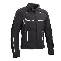 Blouson - Veste - Maillot - T-shirt - Gilet Airbaig Blouson de moto Ross - Noir Blanc - XL54-56