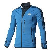 Blouson - Veste Technique ADIDAS PERFORMANCE Veste Fleece Jkt W Bleu Homme - 34 fr 2 us
