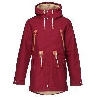 Blouson - Veste Technique WEARCOLOUR Parka Urban - Homme - Rouge - M - Colour Wear