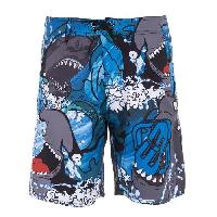 Boardshort FREEGUN Boardshort Long - Garçon - Requin - 8/10 ans