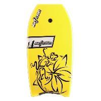 """Bodyboard SURF & SUN Bodyboard Similar EPS 33"""" - Rose et jaune fluo - Surf N Sun"""