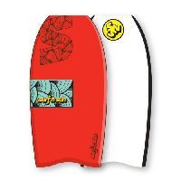 "Bodyboard SURF & SUN Bodyboard Similar EPS 37"" - Rouge et bleu - Surf N Sun"