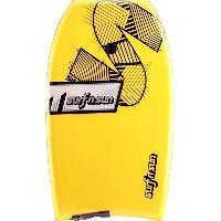 """Bodyboard SURF & SUN Bodyboard Similar EPS 41"""" - Jaune et violet - Surf N Sun"""