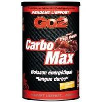 Boisson Energetique Pour Le Sport Complement alimentaire - Pot de 750g pour preparation de boisson energetique CarboMax - Fruits rouges