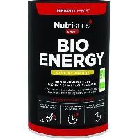 Boisson Energetique Pour Le Sport NUTRISENS Complement alimentaire - Pot de 480 g pour preparation de boisson energetique Bio Energy - Orange