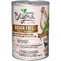 Boite - Patee - Nourriture Humide - Molle BEYOND Nourriture riche enpoulet Grain Free - Pour chien - 400 g