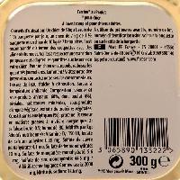 Boite - Patee - Nourriture Humide - Molle CESAR Barquette en terrine au poulet - Pour chien adulte - 300 g (x20)