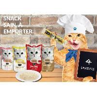 Boite - Patee - Nourriture Humide - Molle KIT CAT Thon PurrPurée Plus Skin & Coat - Pour chat - 4 x 15 g - Aucune