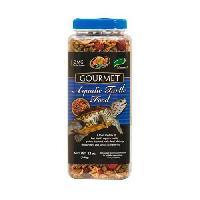 Boite - Patee - Nourriture Humide - Molle ZOOMED Aliment complet gourmet - Pour tortue aquatique en pleine croissance - 312 g - Aucune