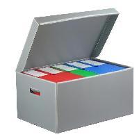 Boite A Archive Caisse pour boites d'archives - Gris