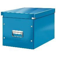 Boite A Archive Click et Store Cube - Boite de rangement - L - Bleu