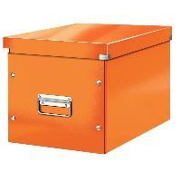 Boite A Archive Click et Store Cube - Boite de rangement - L - Orange