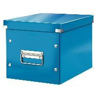 Boite A Archive Click et Store Cube - Boite de rangement - M - Bleu