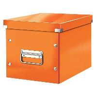 Boite A Archive Click et Store Cube - Boite de rangement - M - Orange